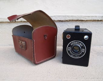 Vintage Camera Box Sporting