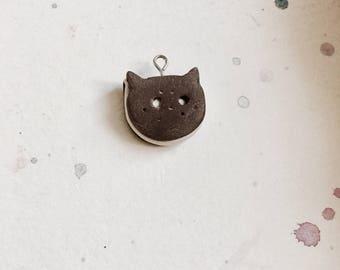 Cute cookie cat