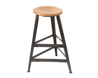 Antique watchmaker workshop industrial stool bar stool