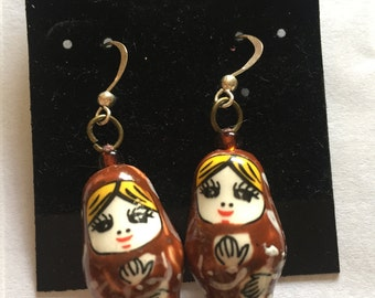 RUSsian Doll Earrings
