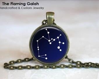 SAGITTARIUS CONSTELLATION Pendant • December Birth Sign • Sagittarius Star Sign • Astrology • Gift Under 20 • Made in Australia (P0084)