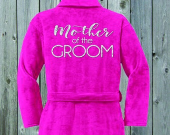 Mother of the Groom Plush Terrycloth Robe