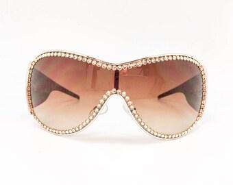 Snow Bunny - Chee (Sunglasses with Crystal Rhinestones)