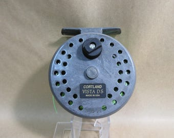 Vintage Cortland Vista DS Fly Fishing Reel Made in USA