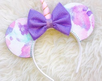 disney ears, mickey ears, minnie ears, disneyland ears, mickey ears headband, disneyworld ears, Daisy Duck, Minnie Mouse ears