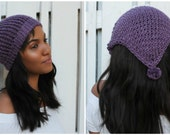 Loom Knitting Pattern Headband Scarf. Includes Video Tutorial. For Large or Extra Large Round Knitting Looms