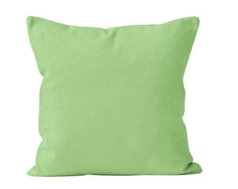 Decorative Mint Green Pillow Mint Green Velvet Pillow Cover