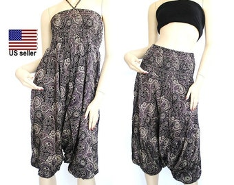 Harem Pants - jumpsuit-Trousers - Yoga Pants - aladdin pants - Hippie Pants – Gypsy pants…# 0007