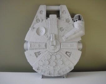 Vintage Star Wars Millennium Falcon Carry Case - Action Figure Carrying Case - 1997