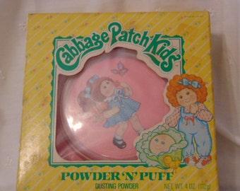 Cabbage Patch Kids, Dusting Powder, MIB, Powder N Puffs