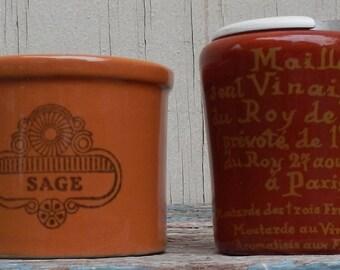 Vintage French Earthenware Crockery!