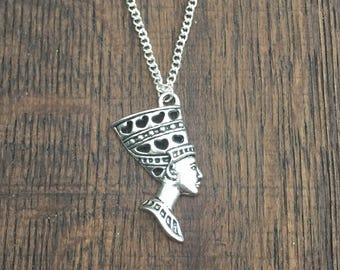 Egyptian Queen Nefertiti Necklace Ref DB3