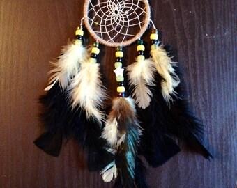 Handmade 3'' Boho Hippie Dream Catcher