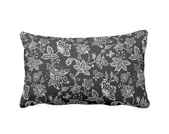 Black Lumbar Pillow Cover Black Paisley Pillow Decorative Pillows for Sofa Pillows Black Throw Pillow Cover Black Accent Pillows Cushions