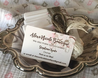 Business Cards Personalized For You PRINTED Standard Size on weight you choose We will add logo
