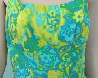 Sun Dress,Size S- M,Cotton Summer Dress