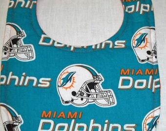 Miami Dolphins Baby Bib