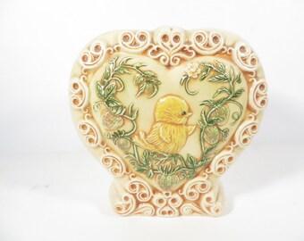 Vintage Easter Chick Vase -  Ceramic Easter Vase