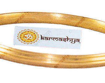 Panchadhatu Pancha Dhatu Adjustable Kada Bangle Bracelet Wrist Panch Loh Loha KD0033