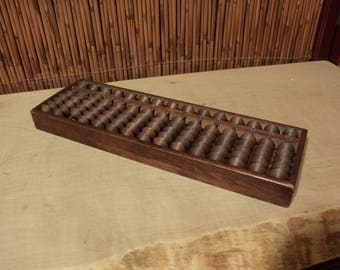 Antique Japanese Wooden Abacus