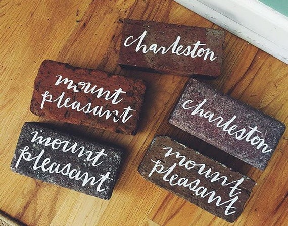 Painted Personalized Brick