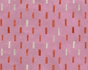 Rose Dash Cotton Woven, Dreamer by Carrie Bloomston for Windham Fabrics