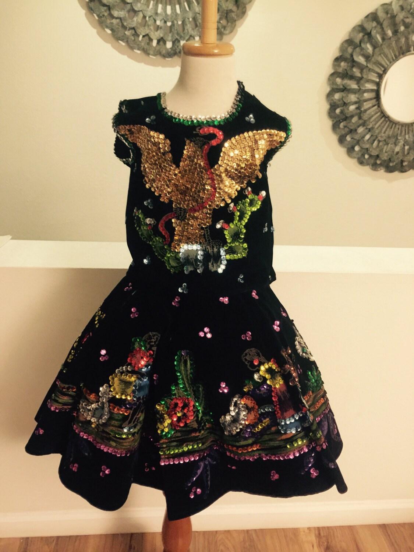 mexican dress 5 de mayo birthday dress baby girl dress