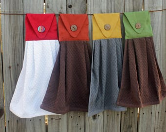 Hanging Kitchen Towel- Choose Your Own Colors