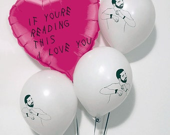 Drake Balloons Valentines, Anniversary