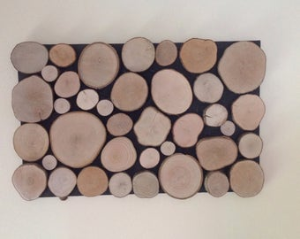 Wood Slice Wall Art No. 1