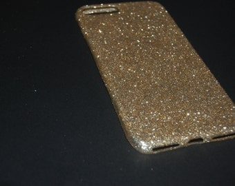 iphone 7 plus case 100% handmade light weight champagne gold
