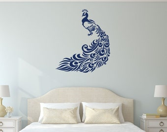 Superb Peacock Wall Decal Vinyl Sticker   Elegant Bird Decor For Home, Office,  Reception Center Part 14