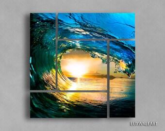 Ocean Wave Wall Art