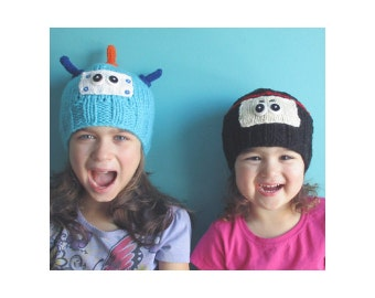 Demo CLEARANCE / Ninja Hat (3-4Y) and Robot Hat (4-5Y)