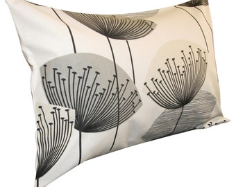 Sanderson Dandelion Clocks Neutral Bolster Cushion Cover
