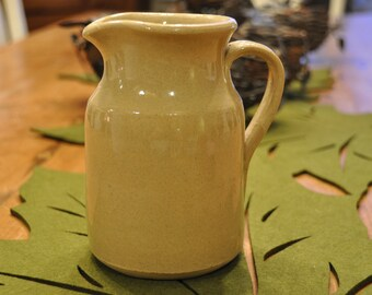 Darling vintage stoneware pitcher - Made in England