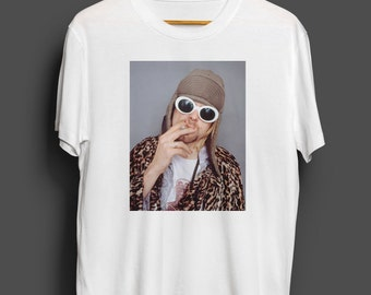 Kurt Cobain men's tshirt
