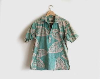 SALE vintage caladon Hawaiian shirt