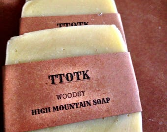 High Mountain Soap - Woodsy