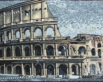 Colosseum Marble Mosaic Art
