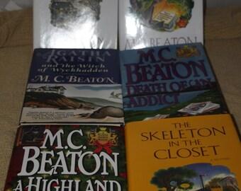 6 MC Beaton books / Free shipping