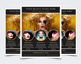 hair extension flyers