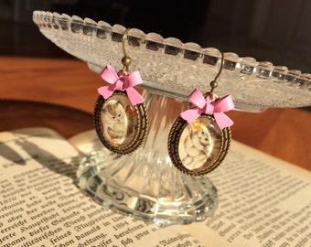 Jewelry set Willow catkins - Catkin jewels