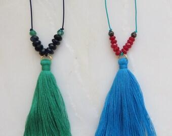Tassel Necklace (Anjuna Tassel Necklace)