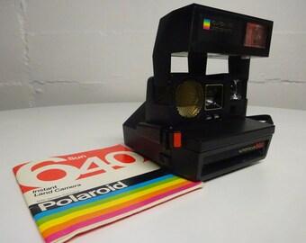 Vintage Polaroid One Step 600 Land Camera/Autofocus 660, Instant Film Camera UNTESTED- FREE SHIPPING