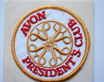 Avon Patch - Avon Collectible - Avon President's Club Award - Vintage Avon Logo