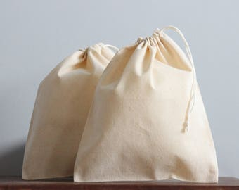50 Calico Bags | Bulk Packaging | Cotton Pouches