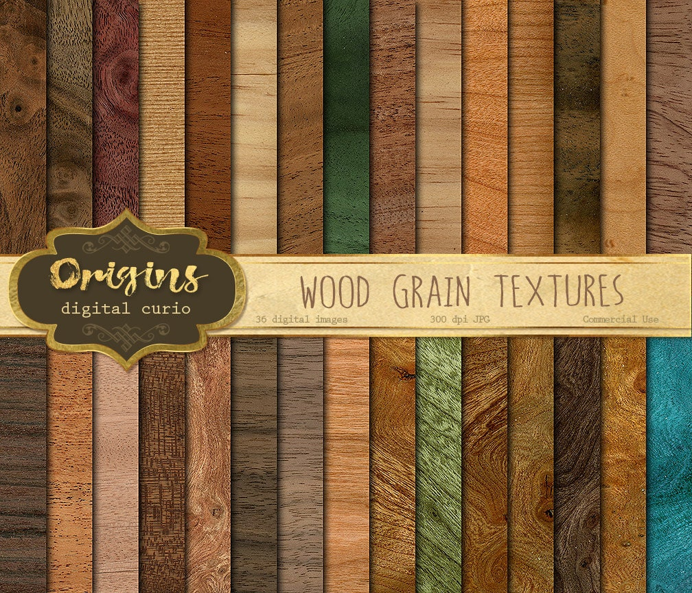 Scrapbook paper wood grain - Wood Grain Textures Digital Paper Rustic Wood Scrapbook Paper Pack Wood Backgrounds Wood Digital Printable Scrapbook Paper Download