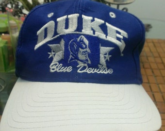 Vintage Duke University Snapback 1990s