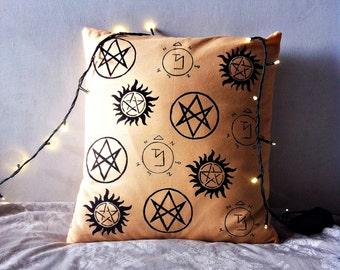 Supernatural pillow case